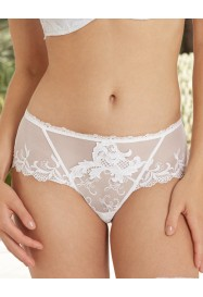 Shorty ACANTHE ARTY in white by Lise Charmel