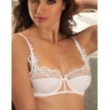 white half cup bra PASSION SOLAIRE by Lise Charmel