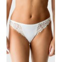 String - Tanga blanc PRIMA DONNA - DEAUVILLE