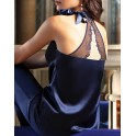 TOP in silk and embroidery SUBLIME A DEUX by Lise Charmel