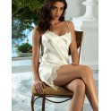 Nightie in silk and lace EMOTION BEAUTE by Lise Charmel