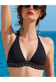 "Foamed triangle bra - ""Ajourage Couture""  by Lise Charmel"