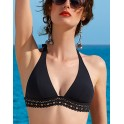 """Foamed triangle bra - """"Ajourage Couture""""  by Lise Charmel"""