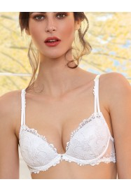 """""""Luxurious"""" Push Up Bra DRESSING FLORAL white  by Lise Charmel"""