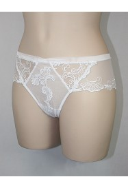 Shorty DRESSING FLORAL in white by Lise Charmel