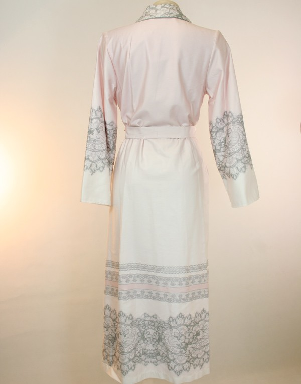 Elegant long dressing gown from the newcollection by ROSCH ...