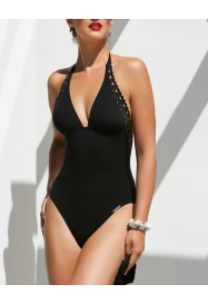 One piece AJOURAGE COUTURE BLACK  by Lise Charmel beach department