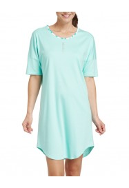 Emerald  cotton Nightgown  by ROSCH Lingerie