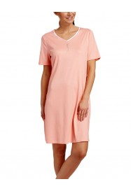 Apricot cotton Nightgown  by ROSCH Lingerie