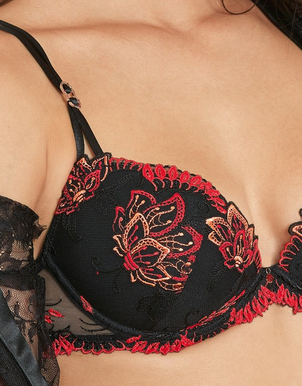 74eb80c36f Strong foamed Push Up bra ECRIN DESIR by Lise Charmel. Click to enlarge