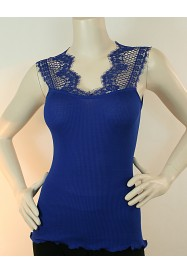 Blue fancy cotton top  by Oscalito