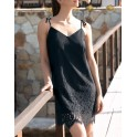 Black beach dress AVENTURE DENTELLE