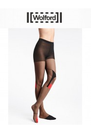 Collant fantaisie RED DART de Wolford