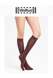 "Knee high AMAZONIAN POISON ""Chateau"" color  by Wolford"