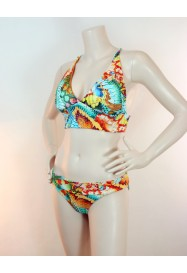 Maillot 2 pieces triangle JUST WING IT de Luli Fama