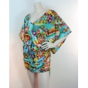 Robe courte de plage JUST WING IT de Luli Fama