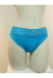 Turquoise Blue brief AJOURAGE COUTURE  by Lise Charmel Bain