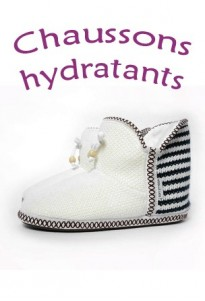 Chaussons hydratants